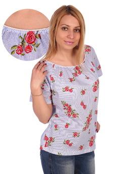 Блузка с открытыми плечами ElenaTex