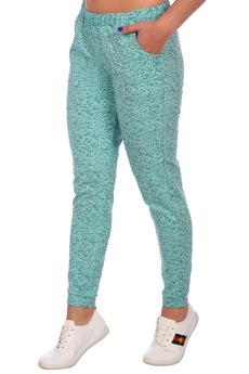 Бирюзовые брюки ElenaTex