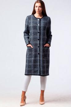 Трикотажное пальто на пуговицах Kvinto со скидкой