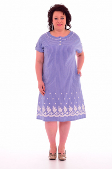 Хлопковое летнее платье Новое кимоно